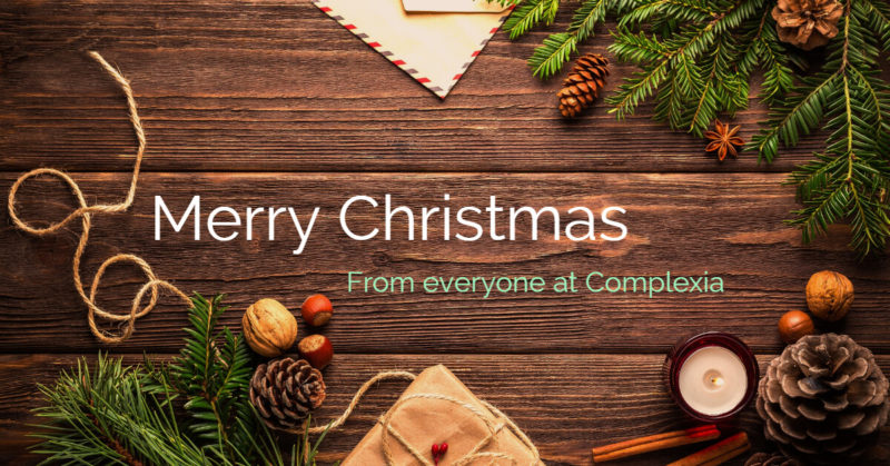 E-Christmas-card from everyone at complexia.